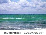 caribbean sea coast of riviera... | Shutterstock . vector #1082970779
