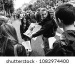 strasbourg  france   sep 12 ... | Shutterstock . vector #1082974400