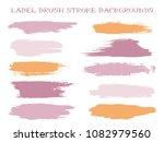 simple label brush stroke... | Shutterstock .eps vector #1082979560