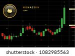 monacoin cryptocurrency coin... | Shutterstock .eps vector #1082985563