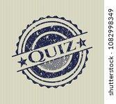 blue quiz distressed grunge... | Shutterstock .eps vector #1082998349