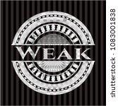 weak silvery shiny badge | Shutterstock .eps vector #1083001838