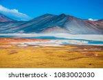 piedras rojas mountain range... | Shutterstock . vector #1083002030