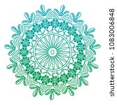 degraded line mandala... | Shutterstock .eps vector #1083006848