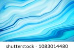 marble ink colorful. blue... | Shutterstock . vector #1083014480