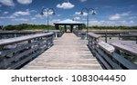 Fishing pier, Sunset Point, a public park in Mandeville, Louisiana