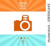 camera symbol icon | Shutterstock .eps vector #1083061643