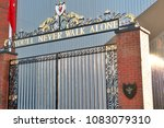 liverpool england   uk   dec 7  ... | Shutterstock . vector #1083079310