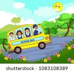 back school vector for banner... | Shutterstock .eps vector #1083108389