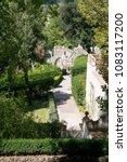 villa d'este tivoli  italy  ... | Shutterstock . vector #1083117200