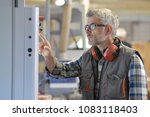 woodwork technician programming ... | Shutterstock . vector #1083118403