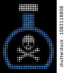 poison retort halftone vector... | Shutterstock .eps vector #1083118808