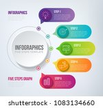 five steps infographics   can... | Shutterstock .eps vector #1083134660