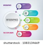 five steps infographics   can...   Shutterstock .eps vector #1083134669