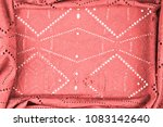 texture  pattern. cloth red... | Shutterstock . vector #1083142640