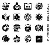 vector national apple pie icon...   Shutterstock .eps vector #1083151523