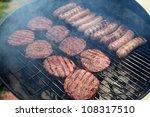 grilling | Shutterstock . vector #108317510