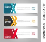 modern banner template design.... | Shutterstock .eps vector #1083215249