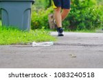 a plastic bottle of drinking... | Shutterstock . vector #1083240518