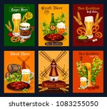 beer alcohol drink poster for... | Shutterstock .eps vector #1083255050