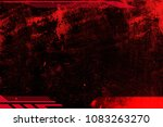 abstract grunge futuristic... | Shutterstock . vector #1083263270