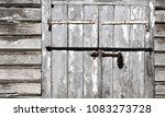 old iron padlock for your design | Shutterstock . vector #1083273728