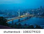 aerial panoramic view of halic... | Shutterstock . vector #1083279323