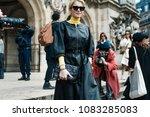 paris  france   march 5  2018 ...   Shutterstock . vector #1083285083