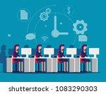 service. corporate business... | Shutterstock .eps vector #1083290303