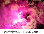 colorful smoke on black... | Shutterstock . vector #1083295850