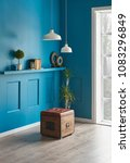 blue room living room interior... | Shutterstock . vector #1083296849