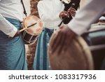 emirati locals  gcc  gulf ... | Shutterstock . vector #1083317936
