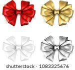 set of colorful realistic... | Shutterstock .eps vector #1083325676