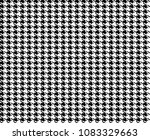 goose foot. seamless pattern of ... | Shutterstock .eps vector #1083329663