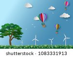 eco friendly and environment... | Shutterstock .eps vector #1083331913