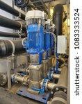 demineralized sistem water... | Shutterstock . vector #1083333524