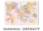 Visas  Stamps  Seals In The...