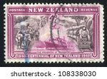 new zealand   circa 1940  stamp ... | Shutterstock . vector #108338030