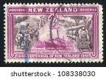 new zealand   circa 1940  stamp ... | Shutterstock . vector #108338030