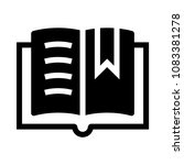 book vector glyphs icon
