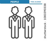 people icon. professional ...   Shutterstock .eps vector #1083390338