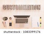 customization   text concept...   Shutterstock . vector #1083399176