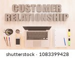 customer relationship   text... | Shutterstock . vector #1083399428