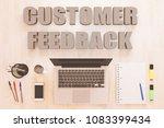 customer feedback   text... | Shutterstock . vector #1083399434