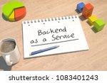 backend as a service   text...   Shutterstock . vector #1083401243