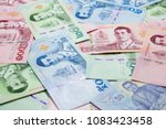 close up 3 kinds of new thai...   Shutterstock . vector #1083423458