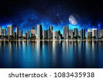 urban background  modern city... | Shutterstock . vector #1083435938