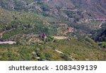 old ruins of the monestir vell... | Shutterstock . vector #1083439139