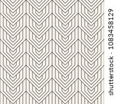 vector seamless pattern. modern ... | Shutterstock .eps vector #1083458129