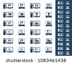 webinar   e learning   set of...   Shutterstock .eps vector #1083461438